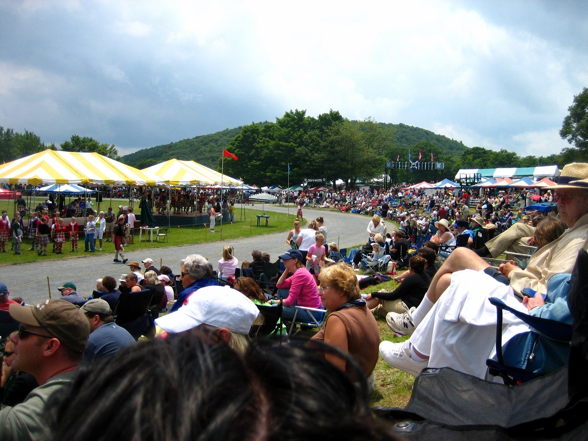 Best time to see Grandfather Mountain Highland Games 2020