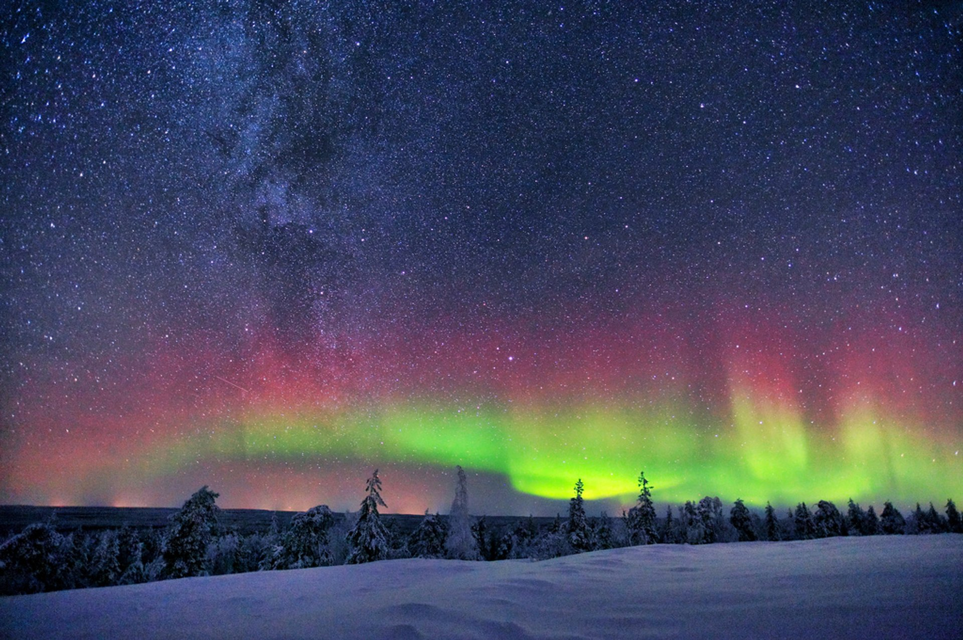 Northern Lights in Finland - Best Season 2020