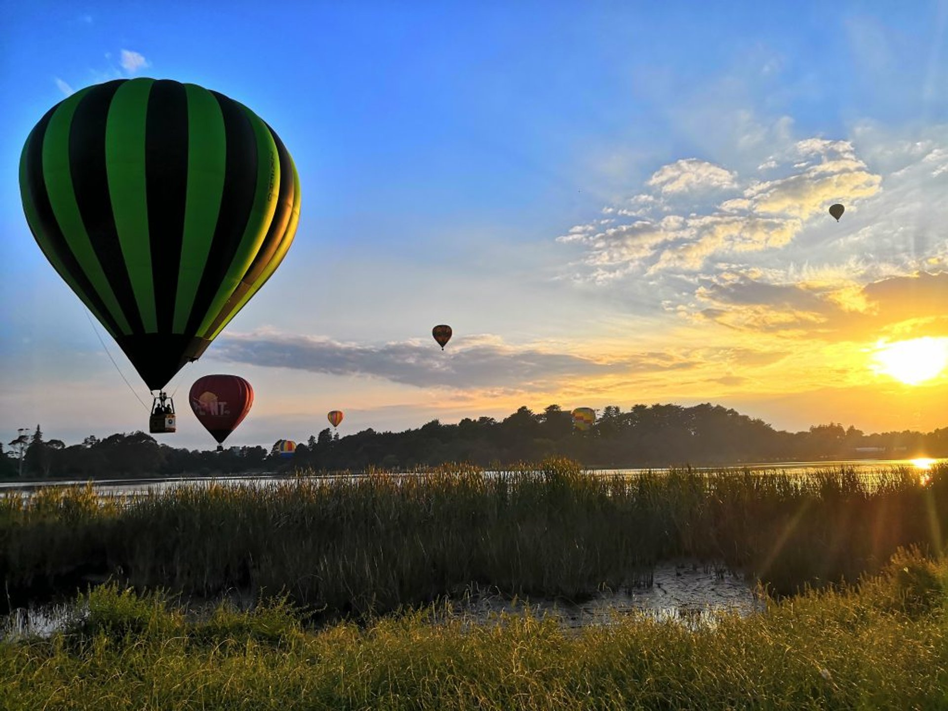 Best time to see Balloons over Waikato in New Zealand 2020