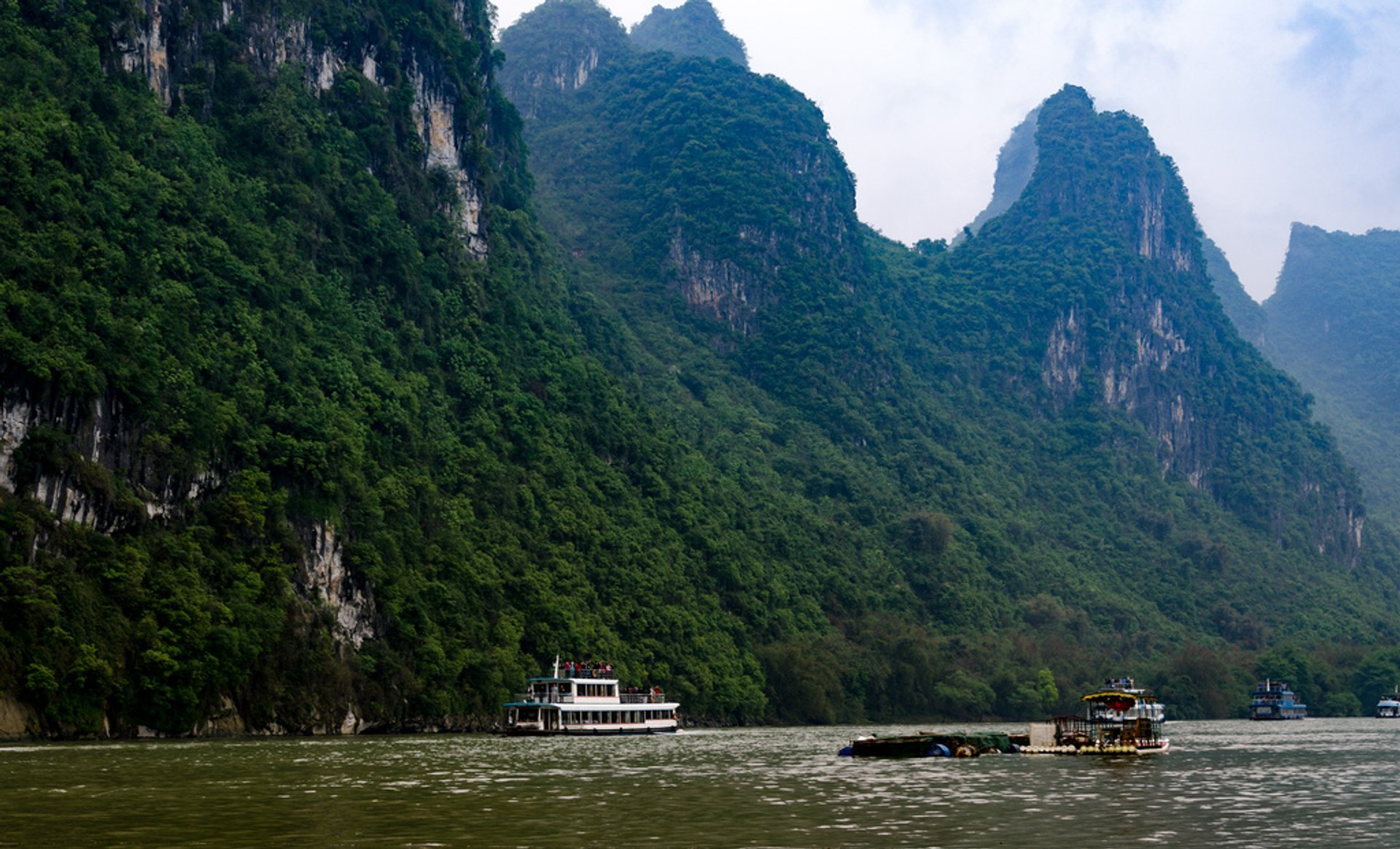 Best time for Li River Hiking in Guilin 2020