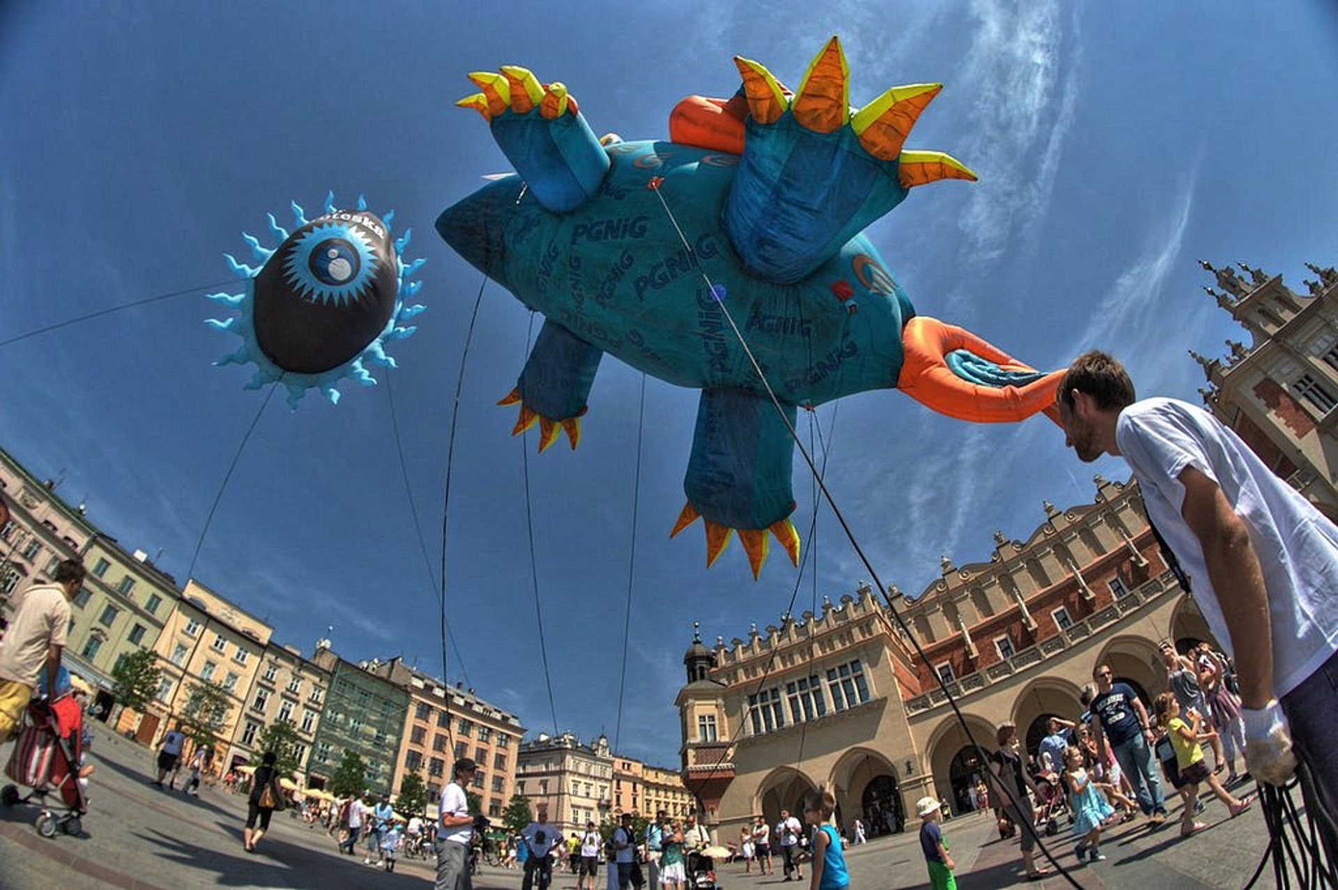 Dragon Parade in Krakow 2020 - Best Time