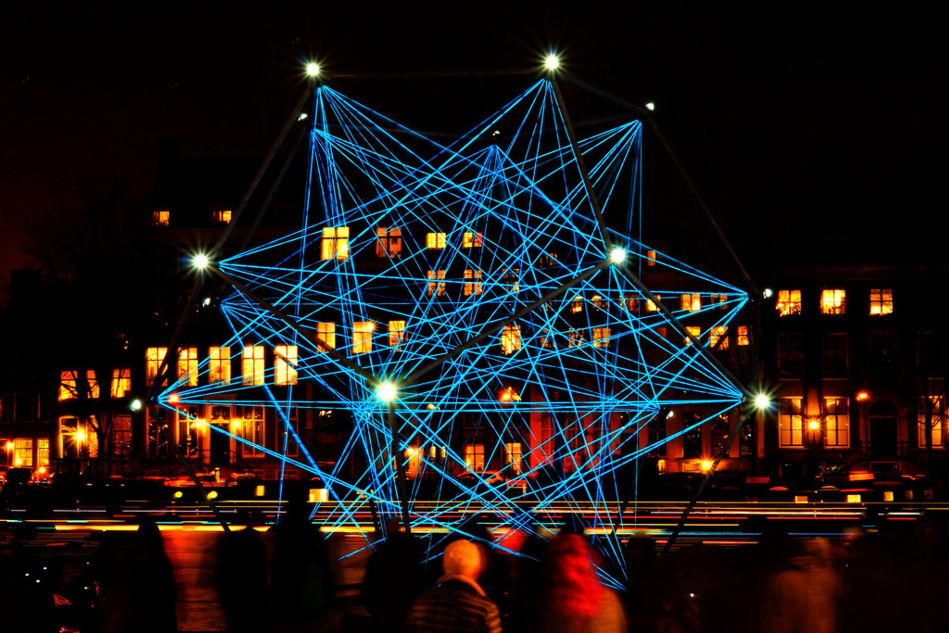Best time for Amsterdam Light Festival in The Netherlands