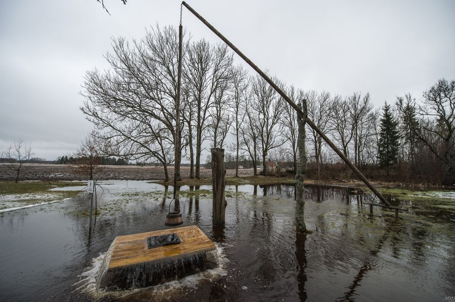 Witch's well at Sulu farm, Kose parish, Estonia 2020