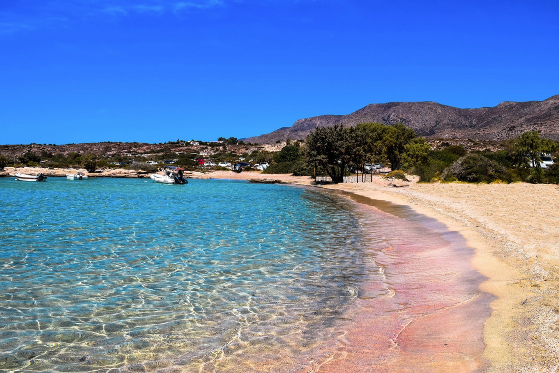 Best Time To See Pink Sand Beaches In Crete 2020 When