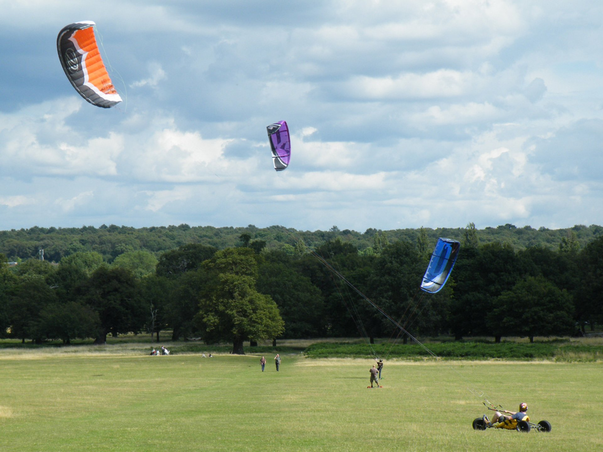 Power Kiting in London 2020 - Best Time