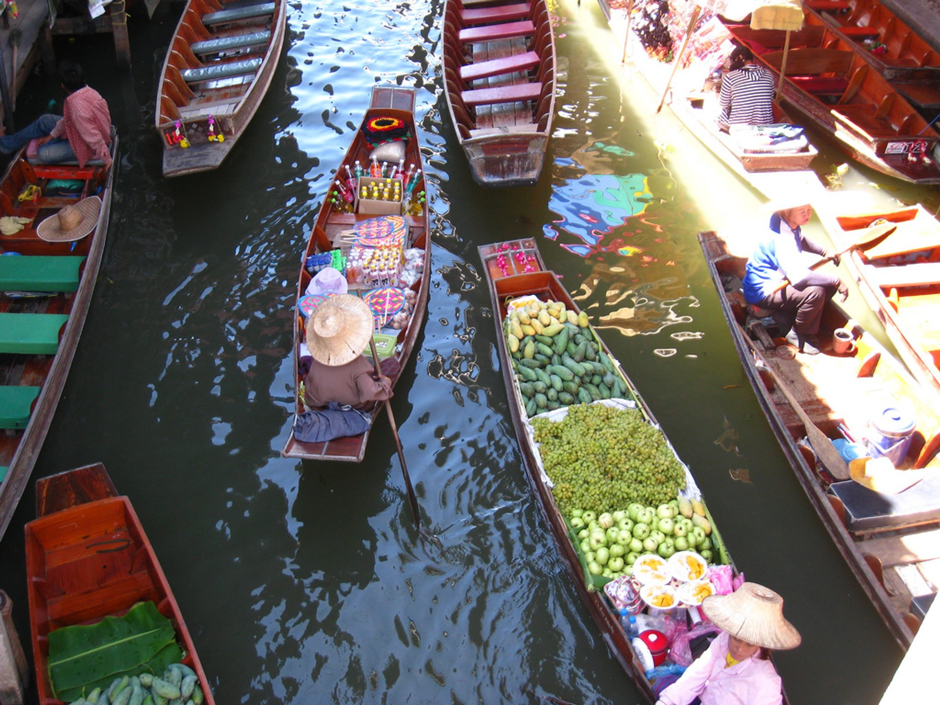 Amphawa floating market 2020
