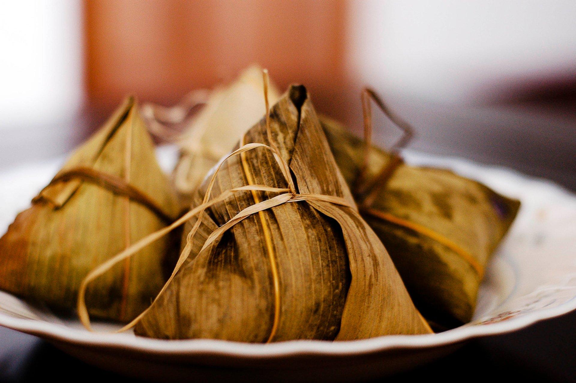 Traditional dumplings 2019