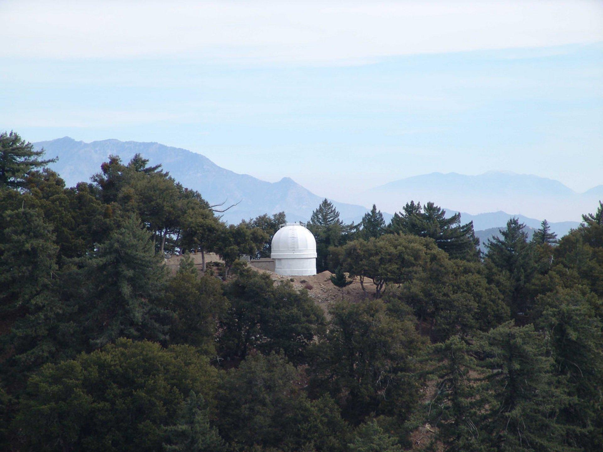 Mount Wilson Observatory in Los Angeles - Best Season 2020