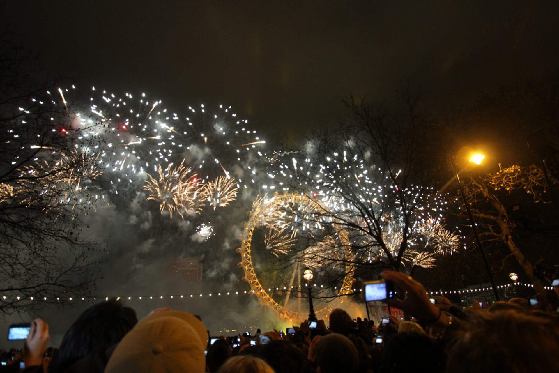 New Year's Eve 2020-2021 in England - Dates & Map