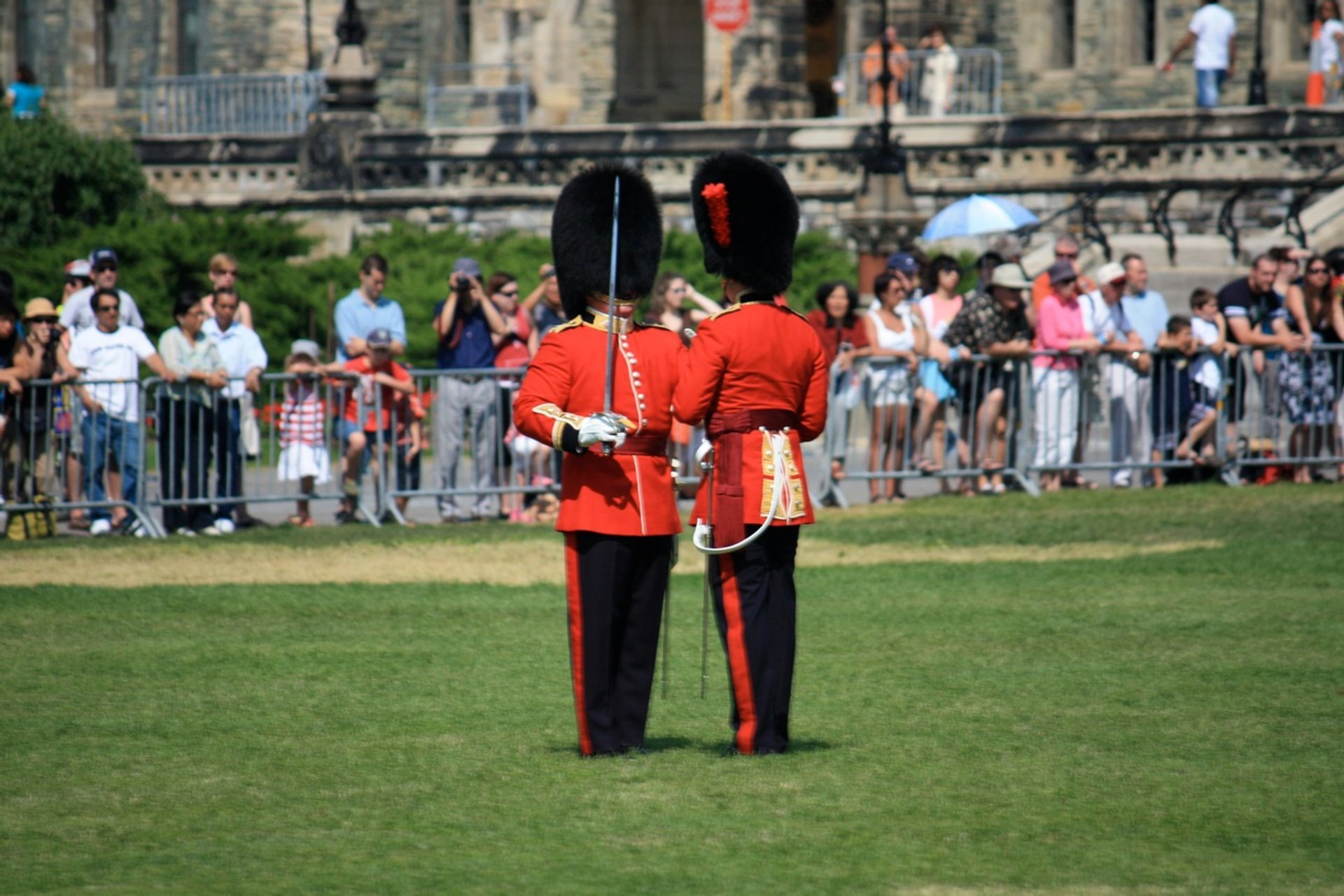Best time for Changing of the Guard Ceremony in Ottawa 2020