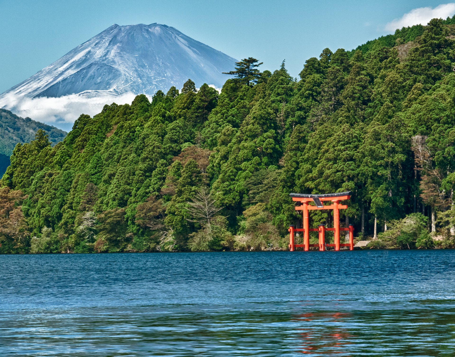 Best time to see Climbing Mount Fuji in Japan