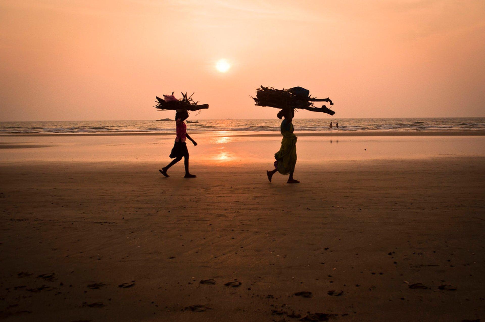 Kudle Beach, Gokarna, Karnataka 2019