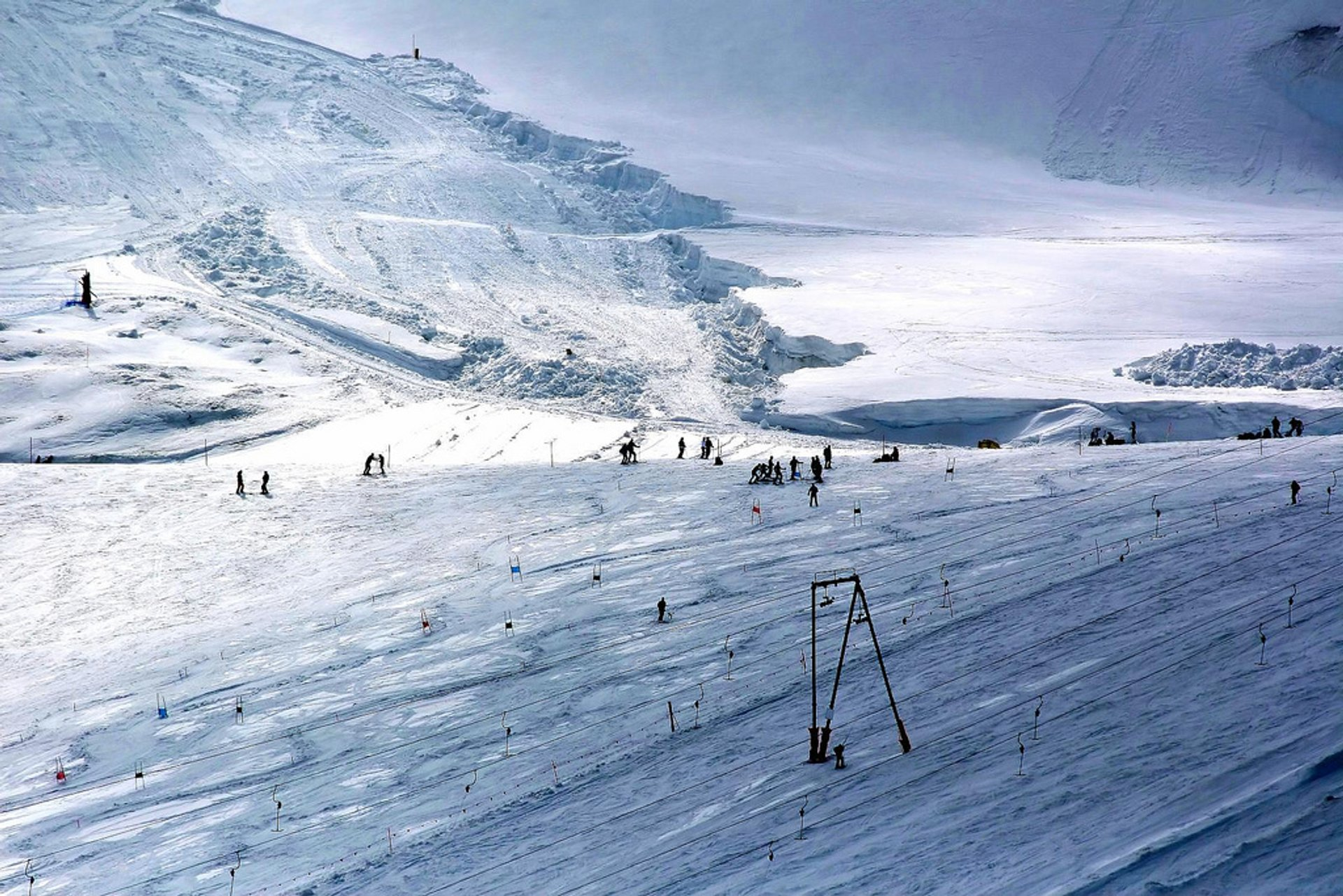 Cervinia ski resort 2020