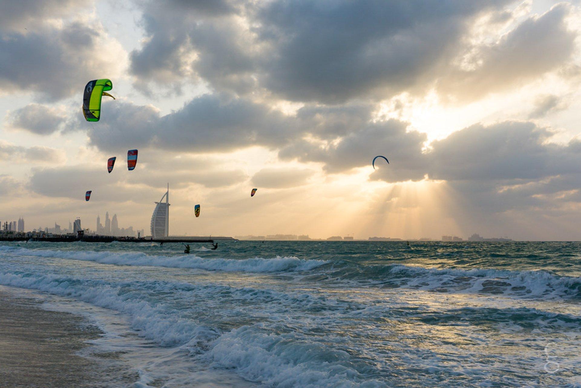 Kitesurfing and Windsurfing in Dubai 2020 - Best Time