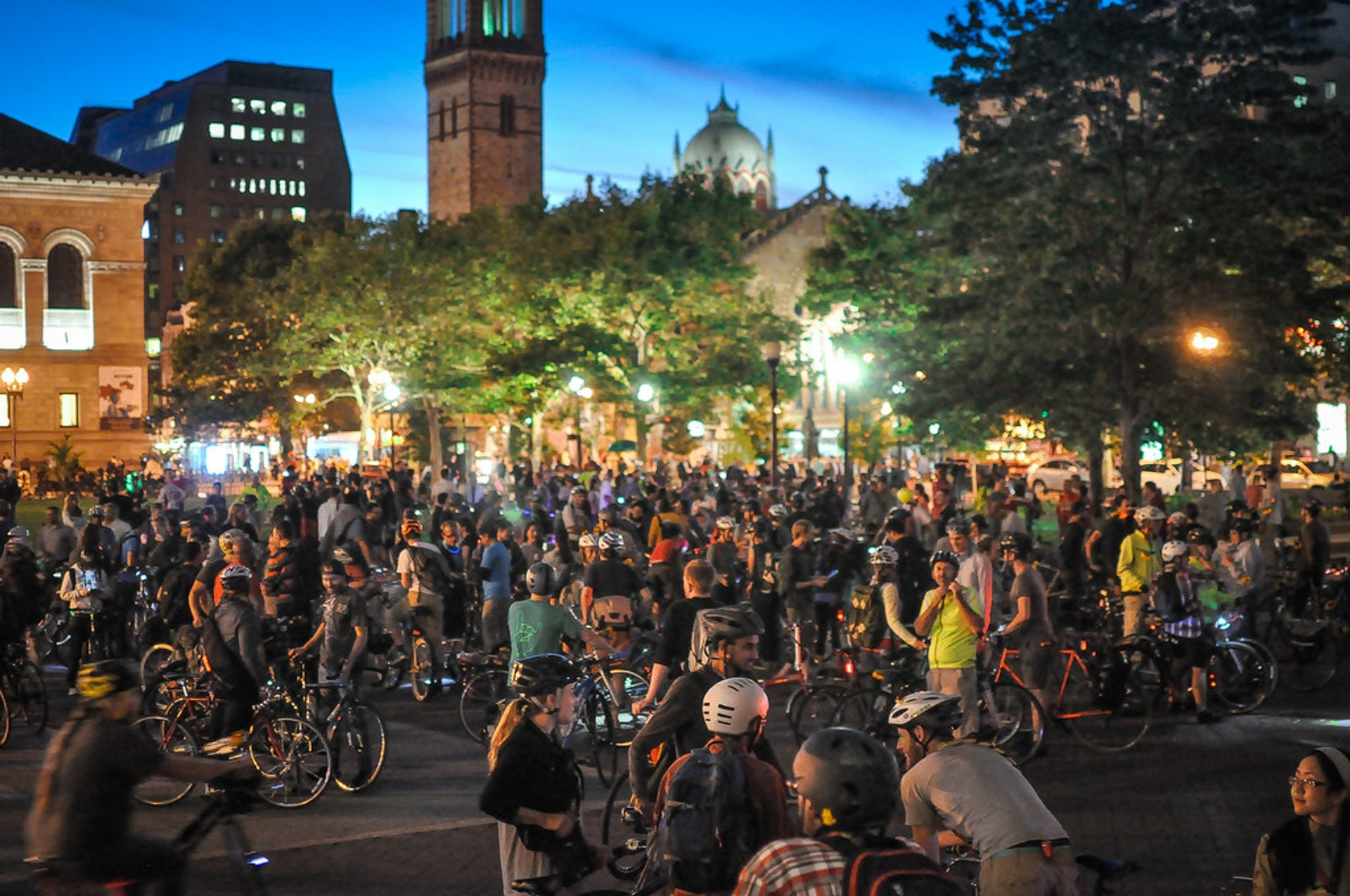 Boston Bike Party 2020