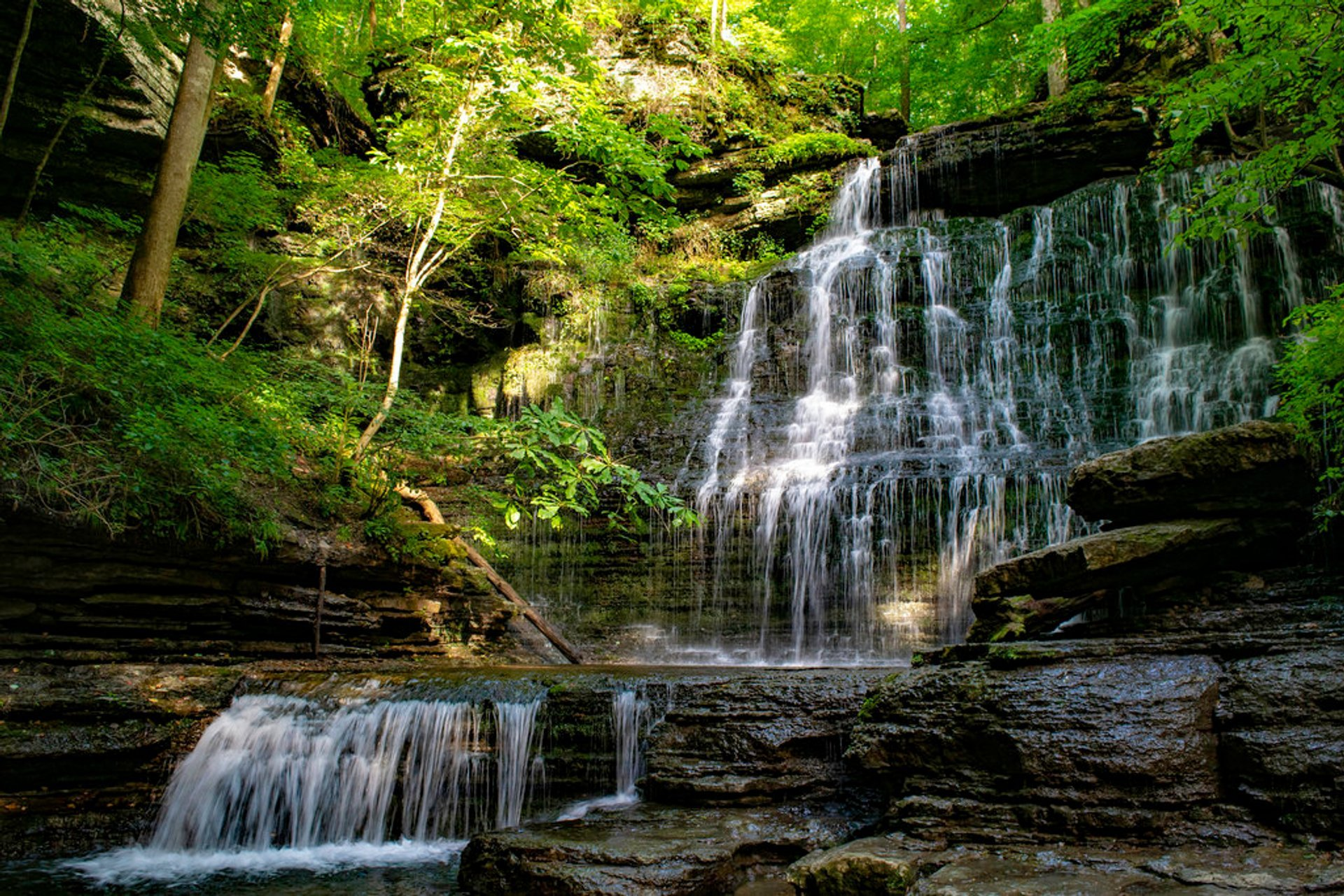 Machine Falls  in Tennessee 2020 - Best Time