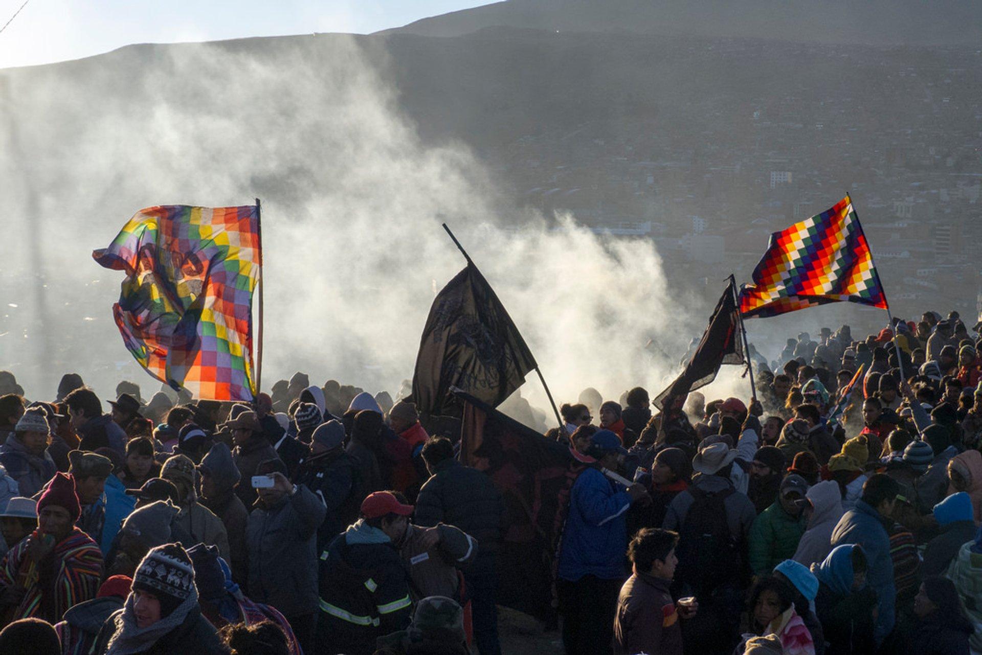 Inti Raymi or Aymara New Year in Bolivia - Best Season 2020
