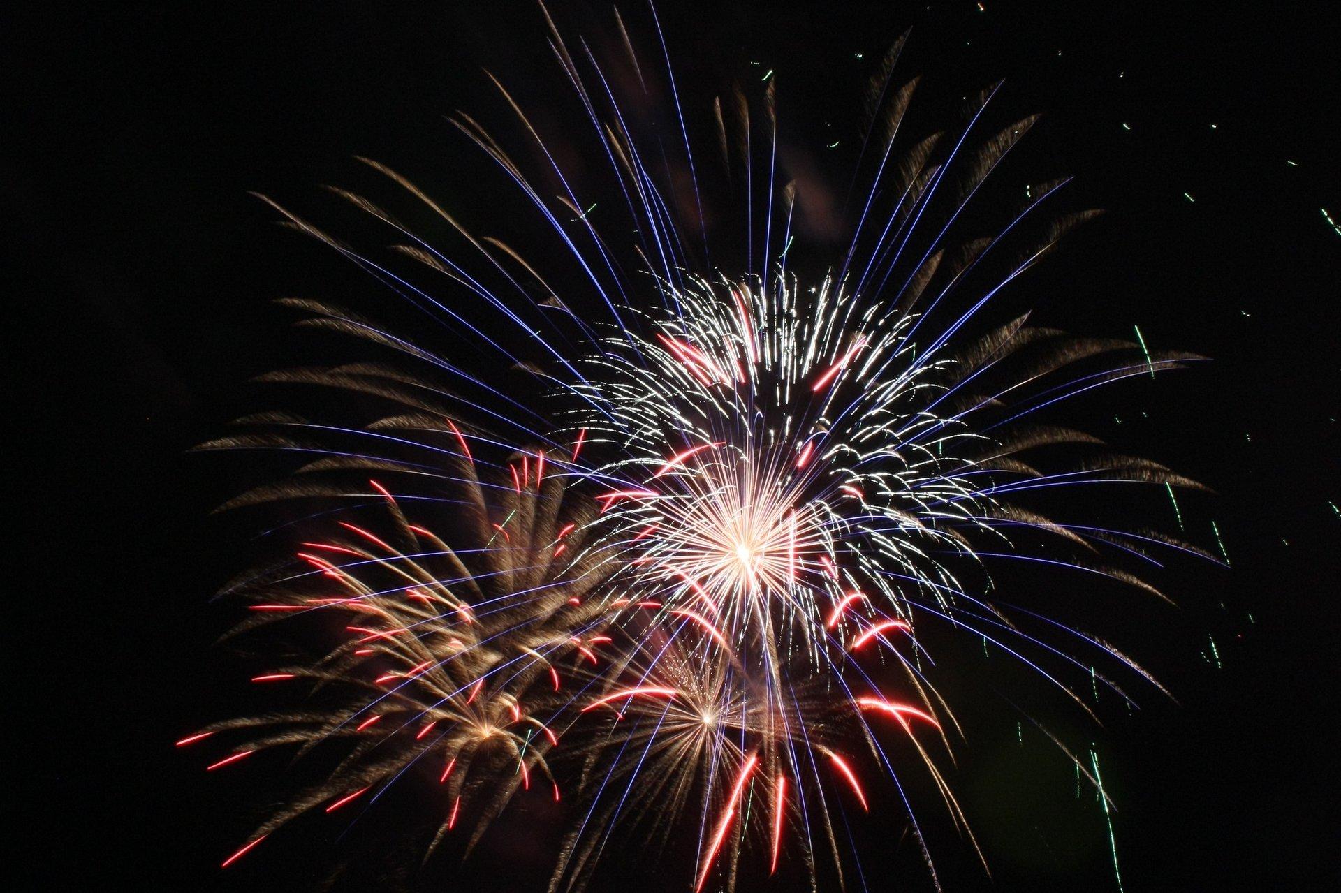 Gaithersburg, 4th of July fireworks 2020