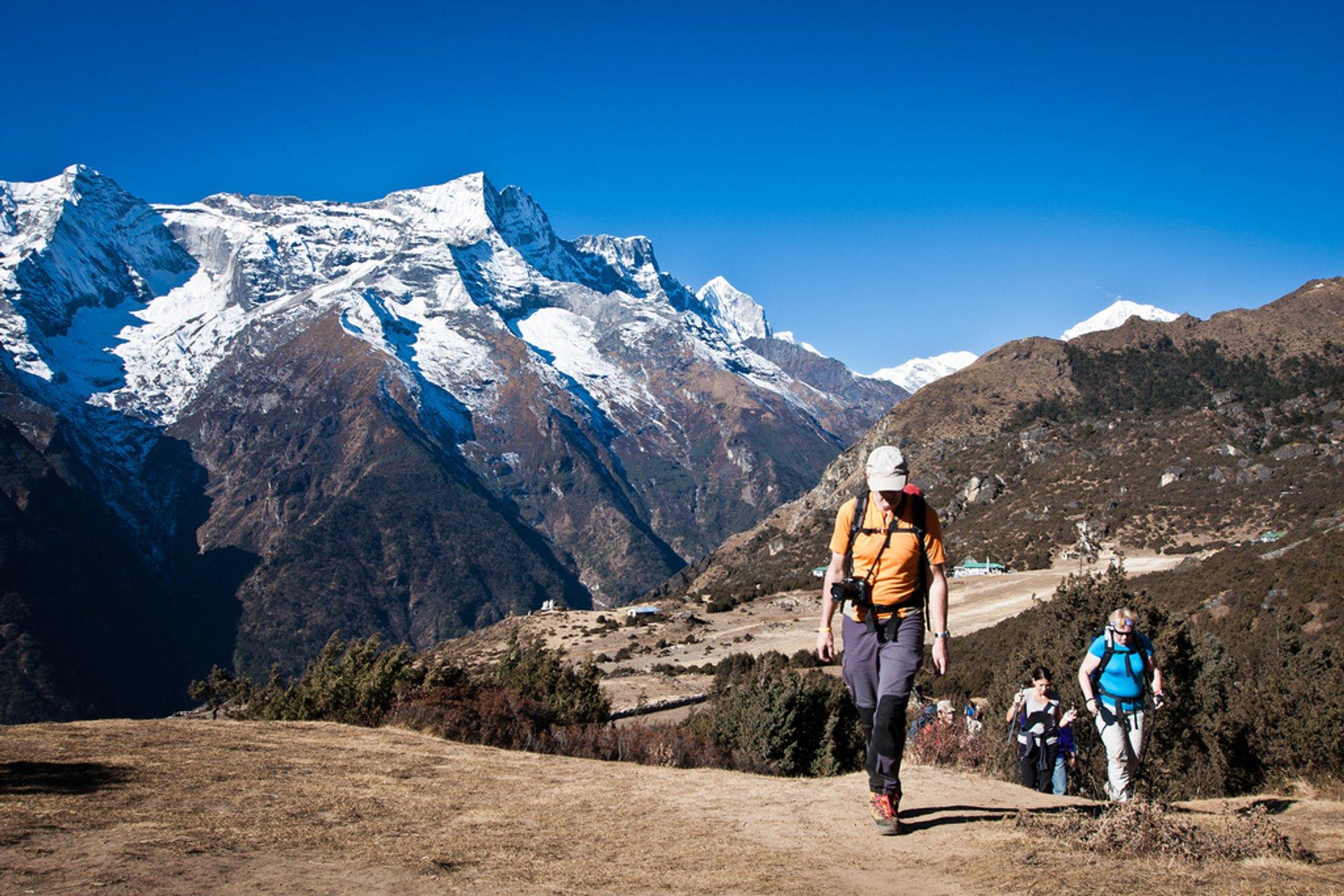 Everest trek 2020