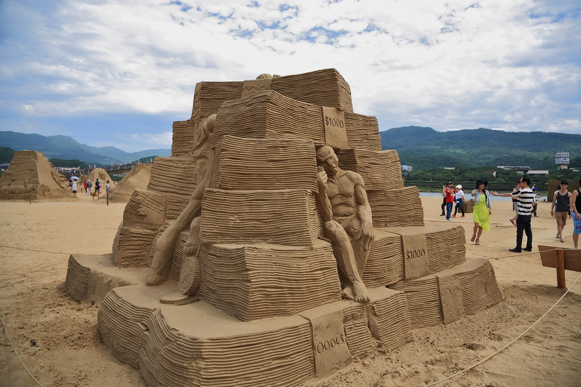 Fulong Sand Sculpture Festival in Taiwan - Best Season 2020