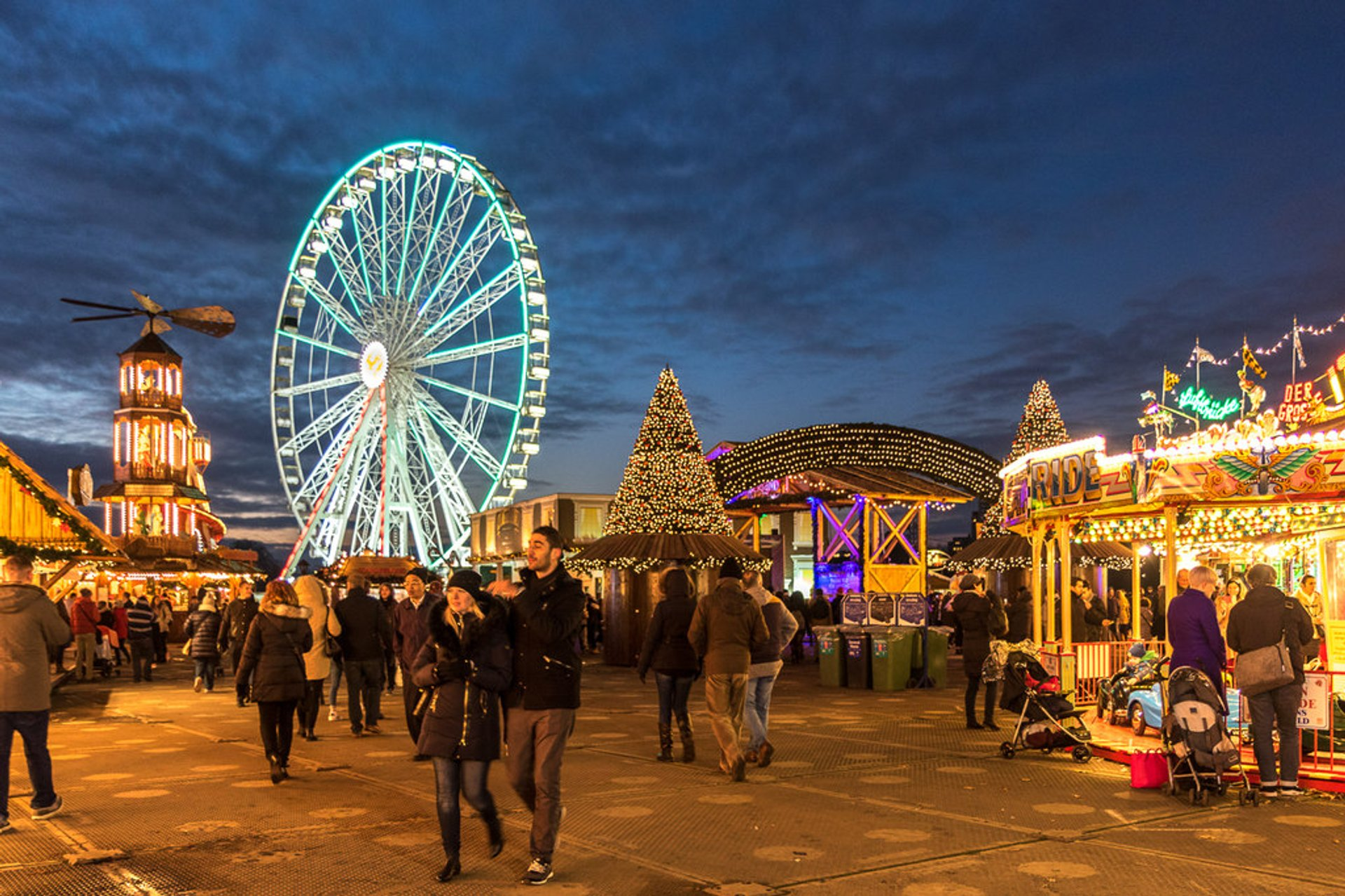 Winter Wonderland, Hyde Park, London 2019