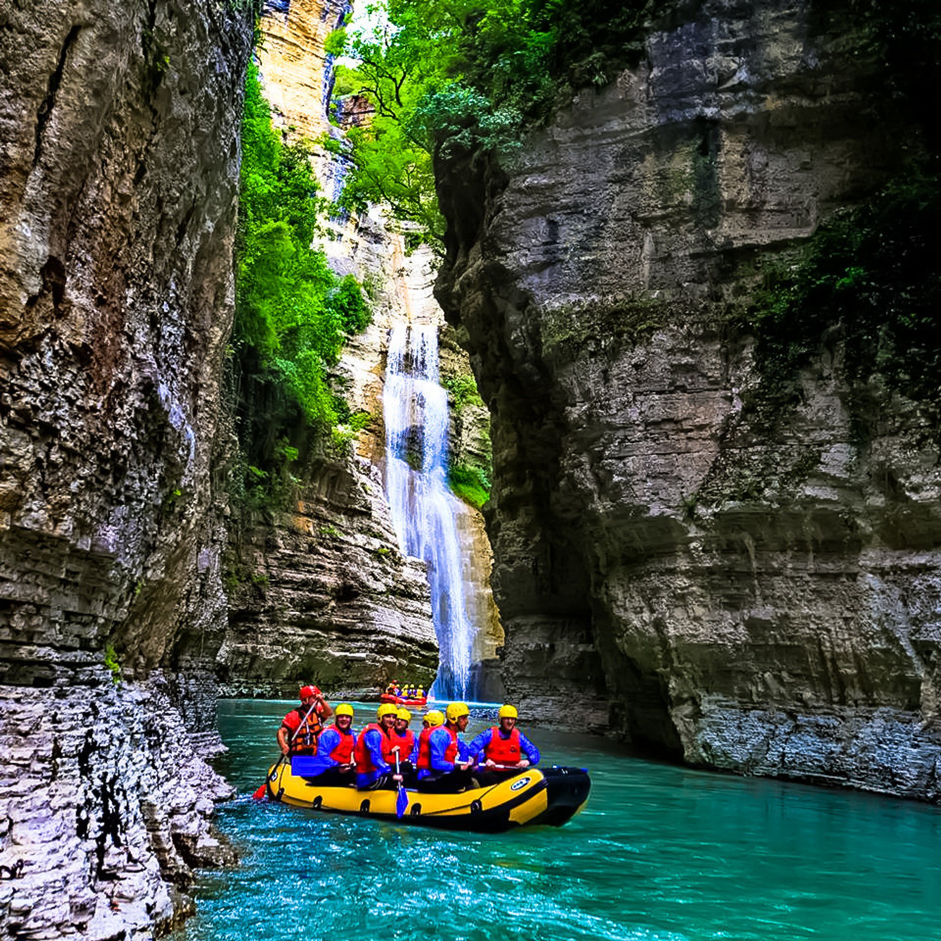 Rafting  in Albania 2020 - Best Time