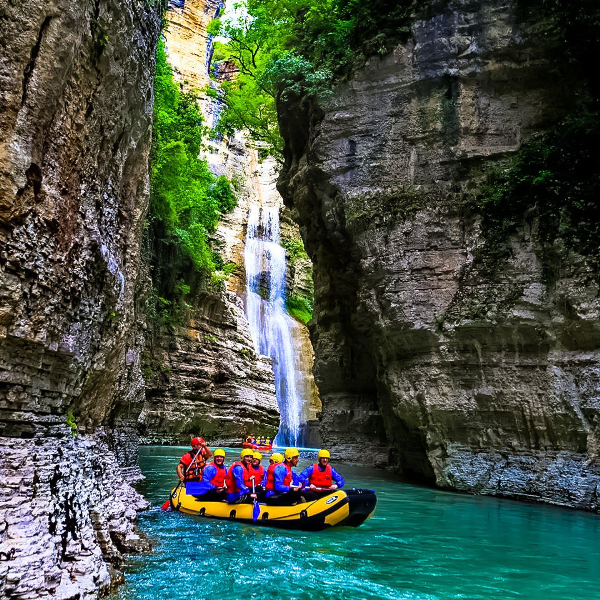 Rafting  in Albania 2019 - Best Time