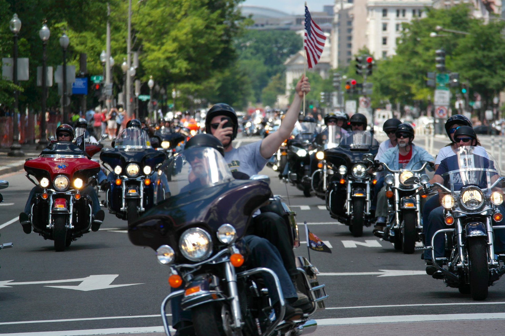 Rolling Thunder 'Ride for Freedom' in Washington, D.C. 2020 - Best Time