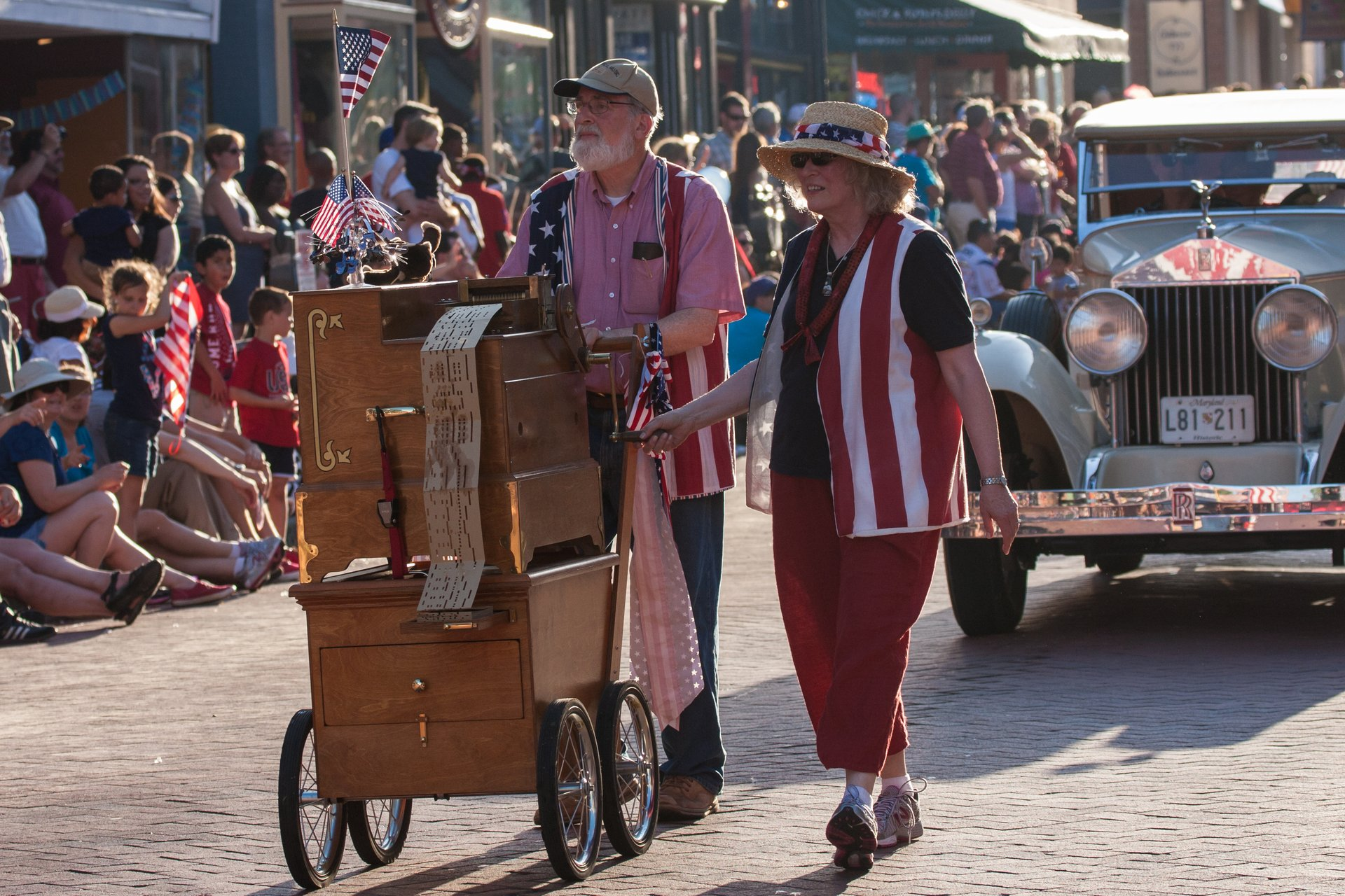 4th of July parade in Annapolis 2020