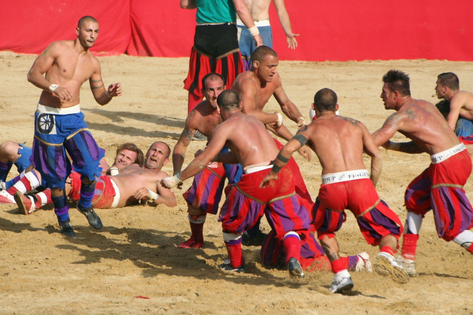 Calcio Storico in Florence 2020 - Best Time
