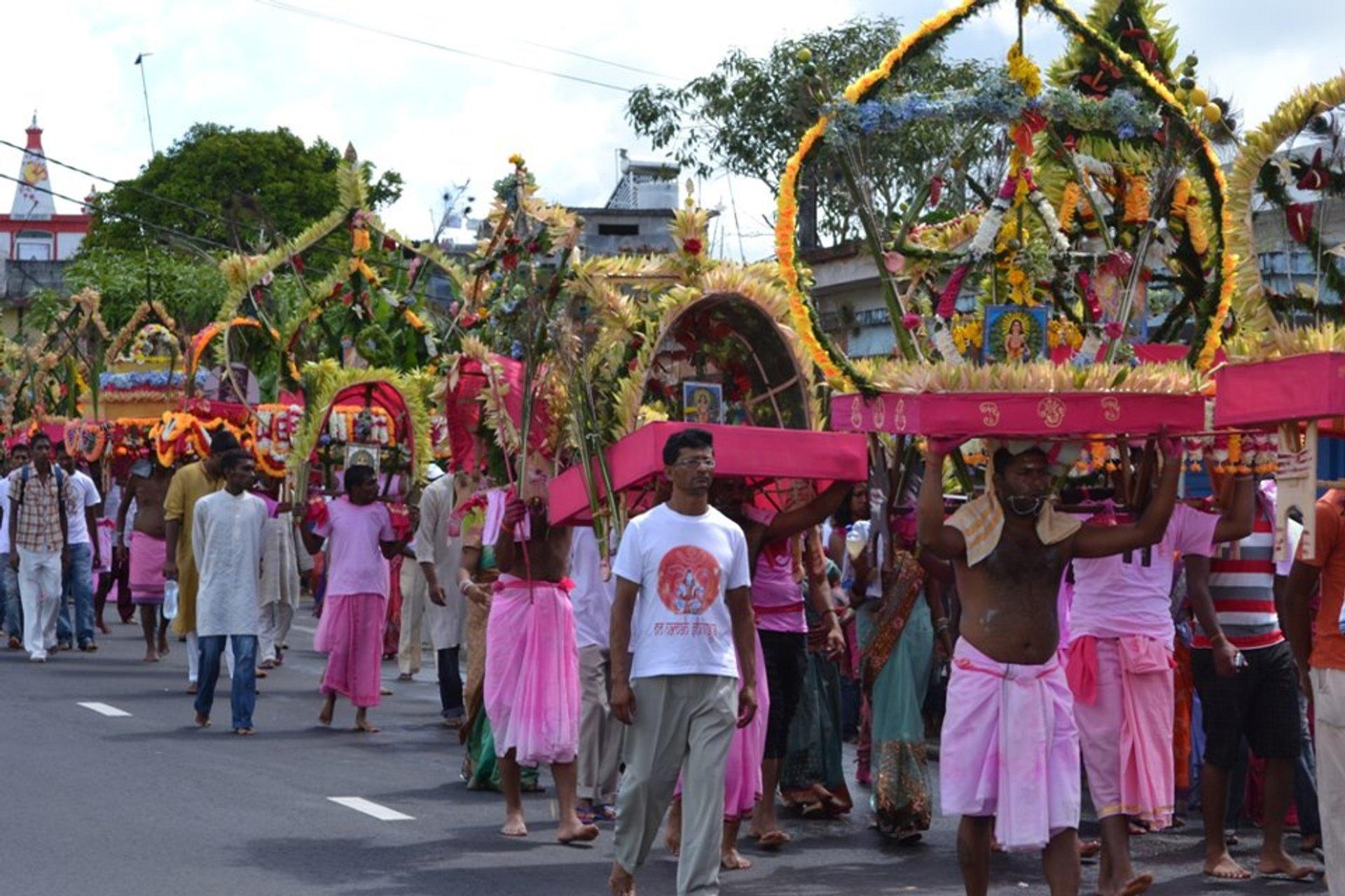 Thaipoosam Cavadee in Mauritius 2020 - Best Time