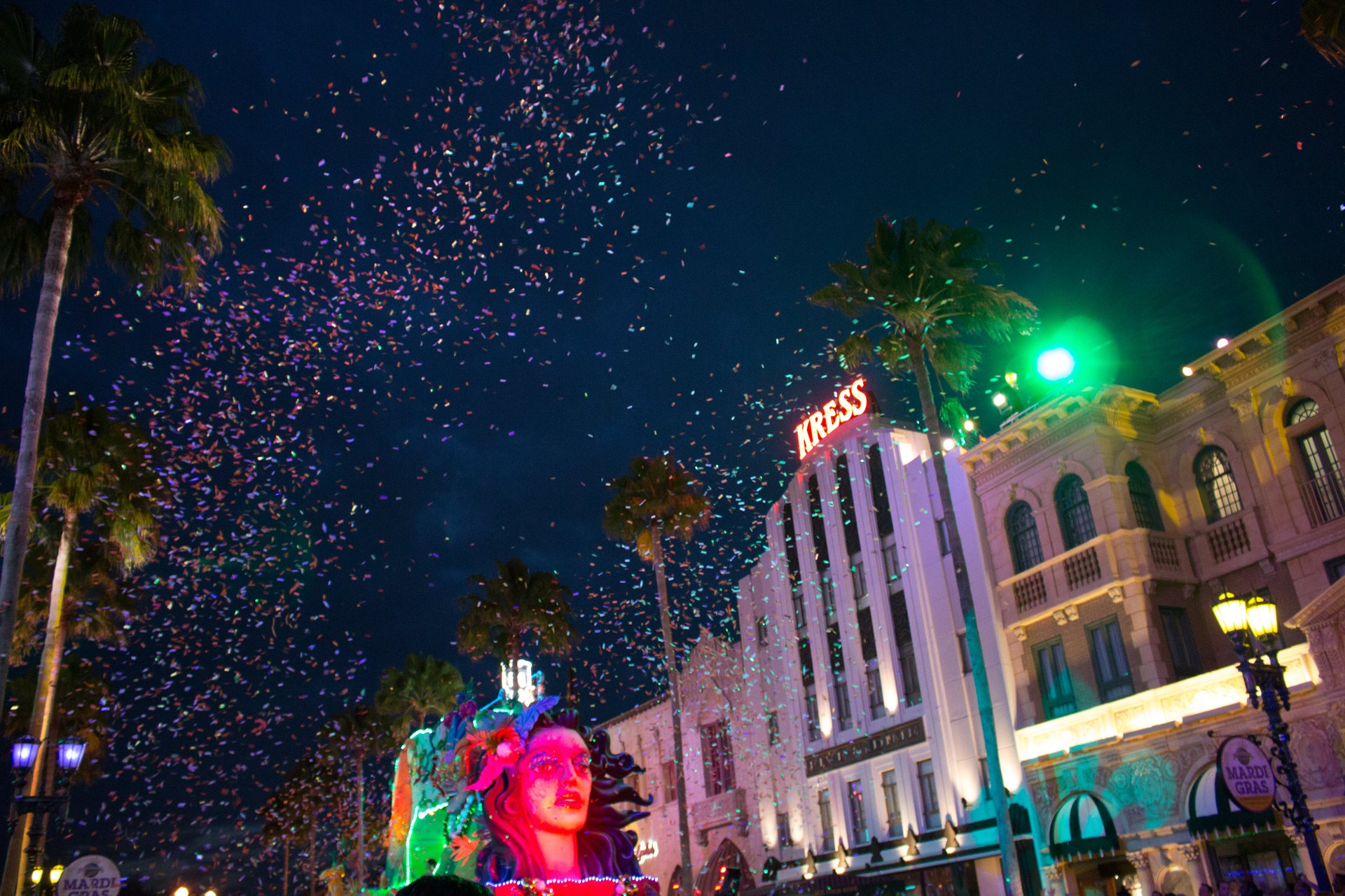 Mardi Gras Parade at Universal Studios Orlando 2020
