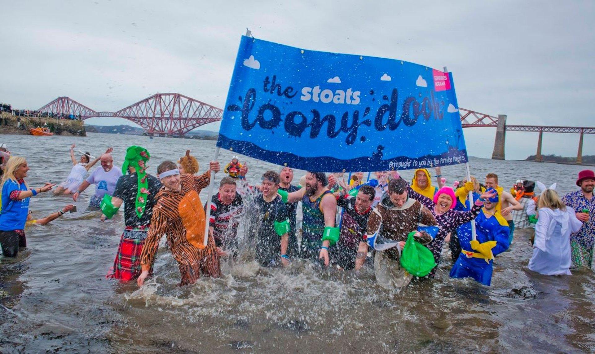 The Loony Dook in Edinburgh 2019 - Best Time