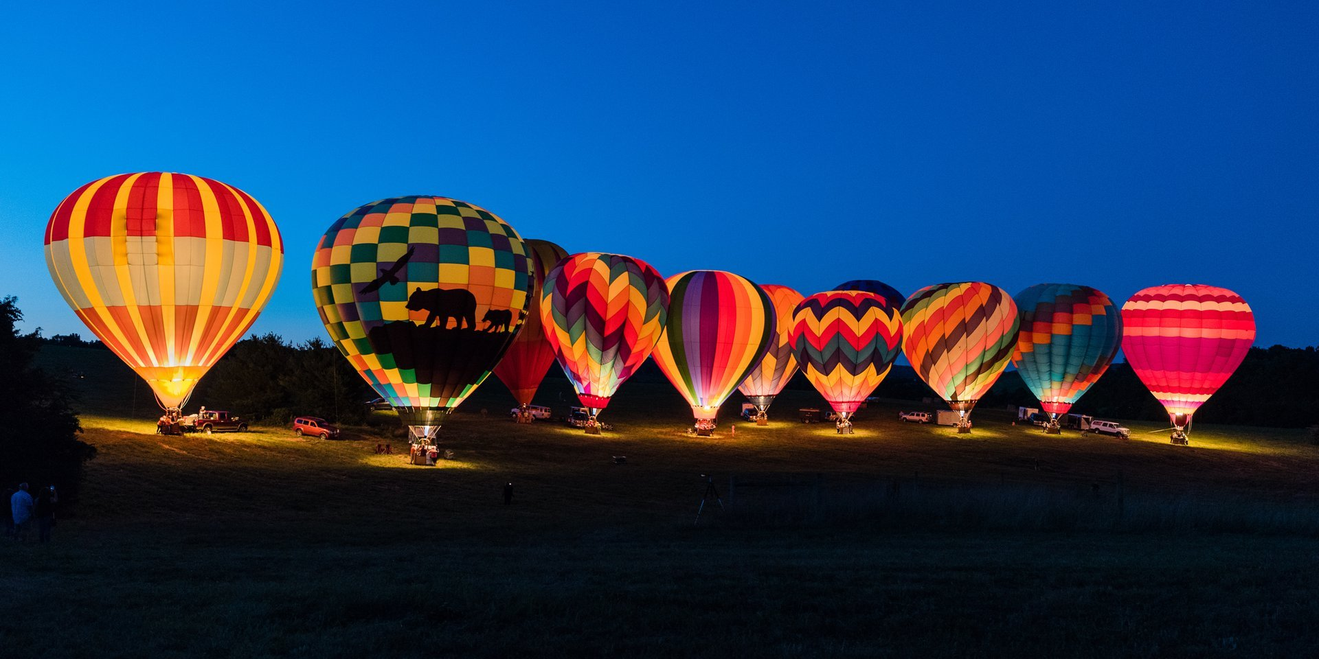 Best time to see Balloons Over Rockbridge in Virginia 2020