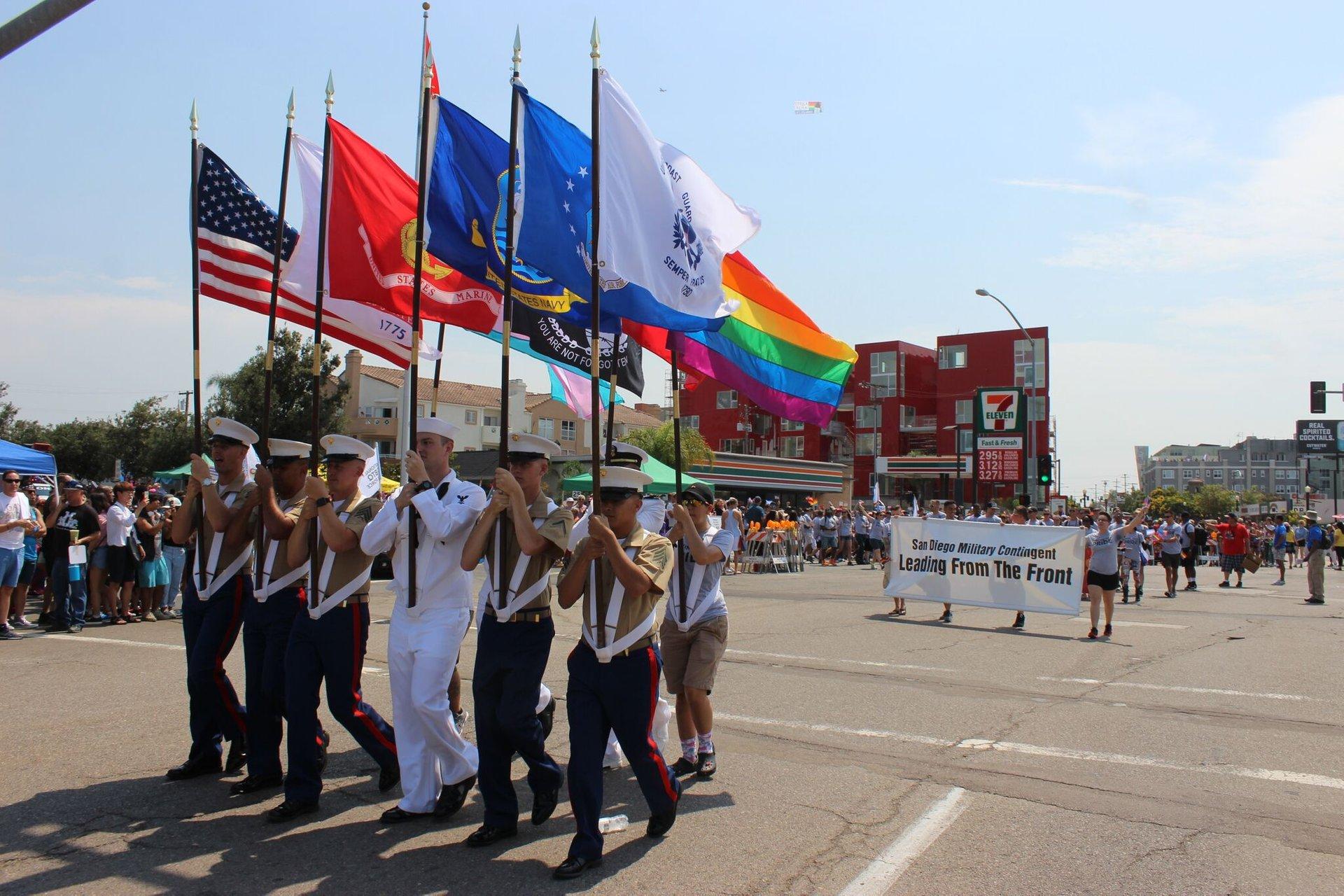 Best time to see San Diego Pride Parade in San Diego 2020