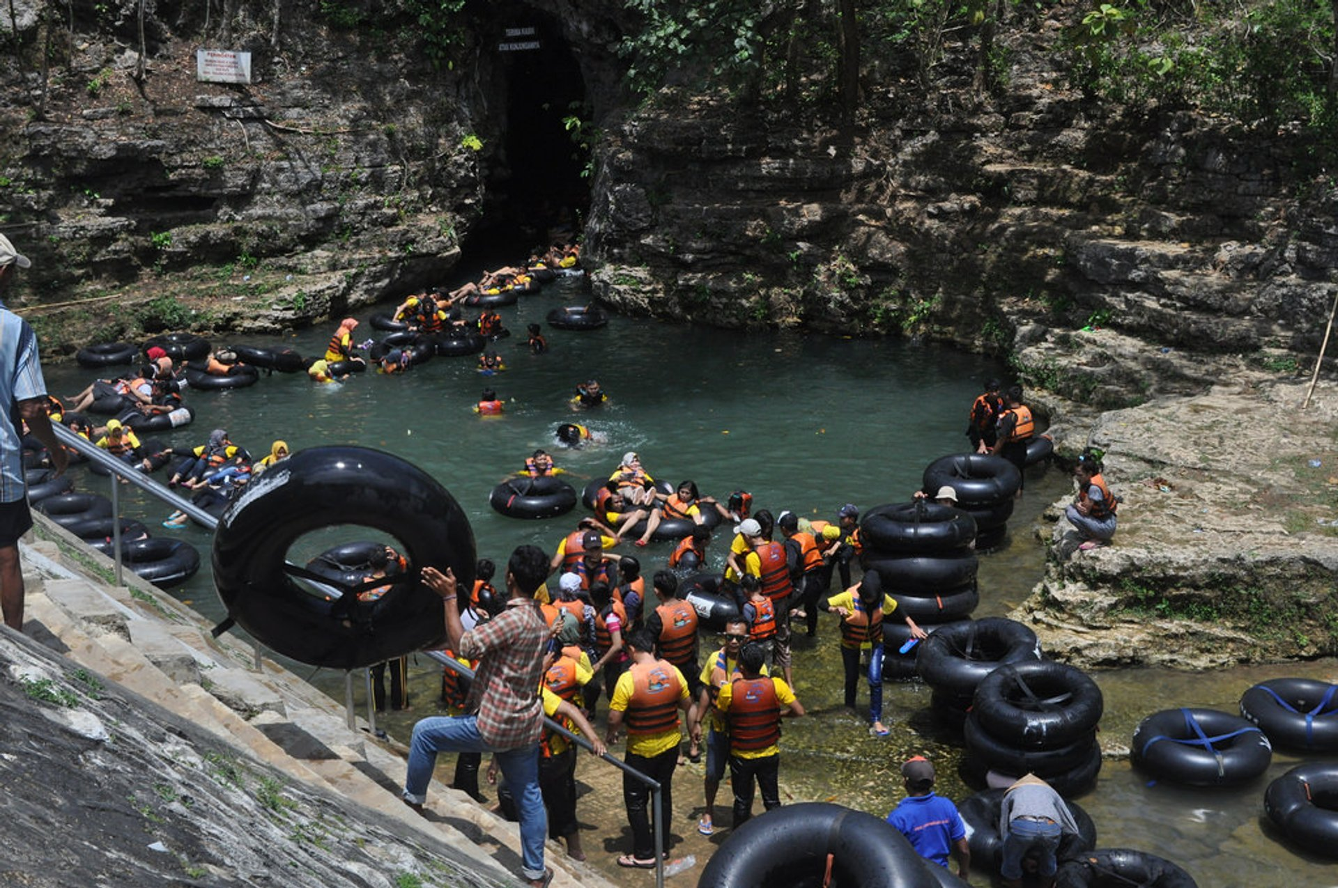 Pindul Cave Tubing in Java - Best Season 2019