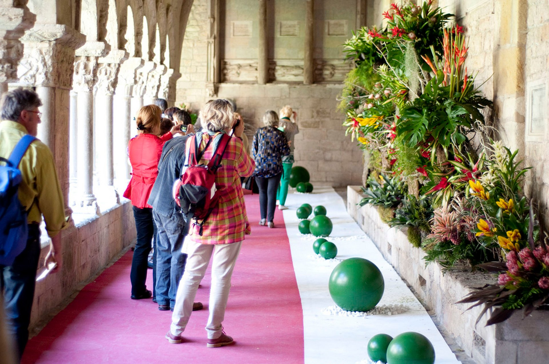 Best time for Girona Flower Festival (Temps de Flors) 2020