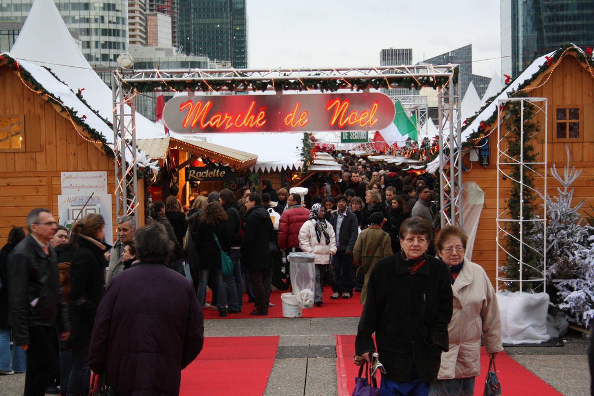 Esplanade de la Défense_Marché de Noël  2020