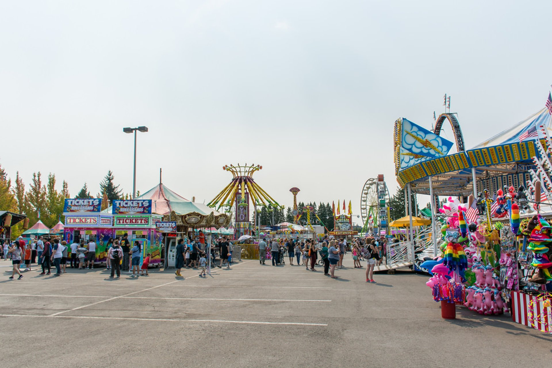 Evergreen State Fair in Seattle - Best Season 2020