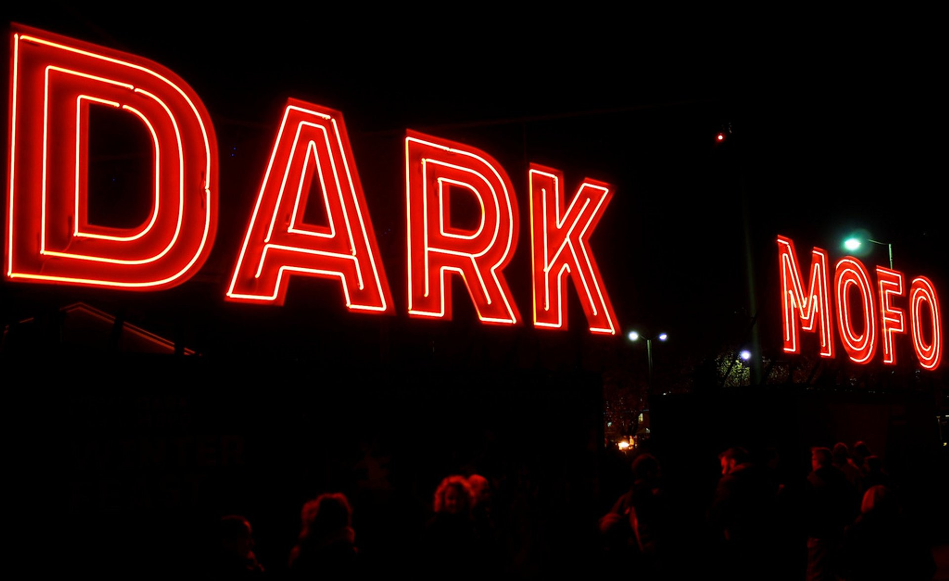 Dark Mofo Festival near Parliament House 2020