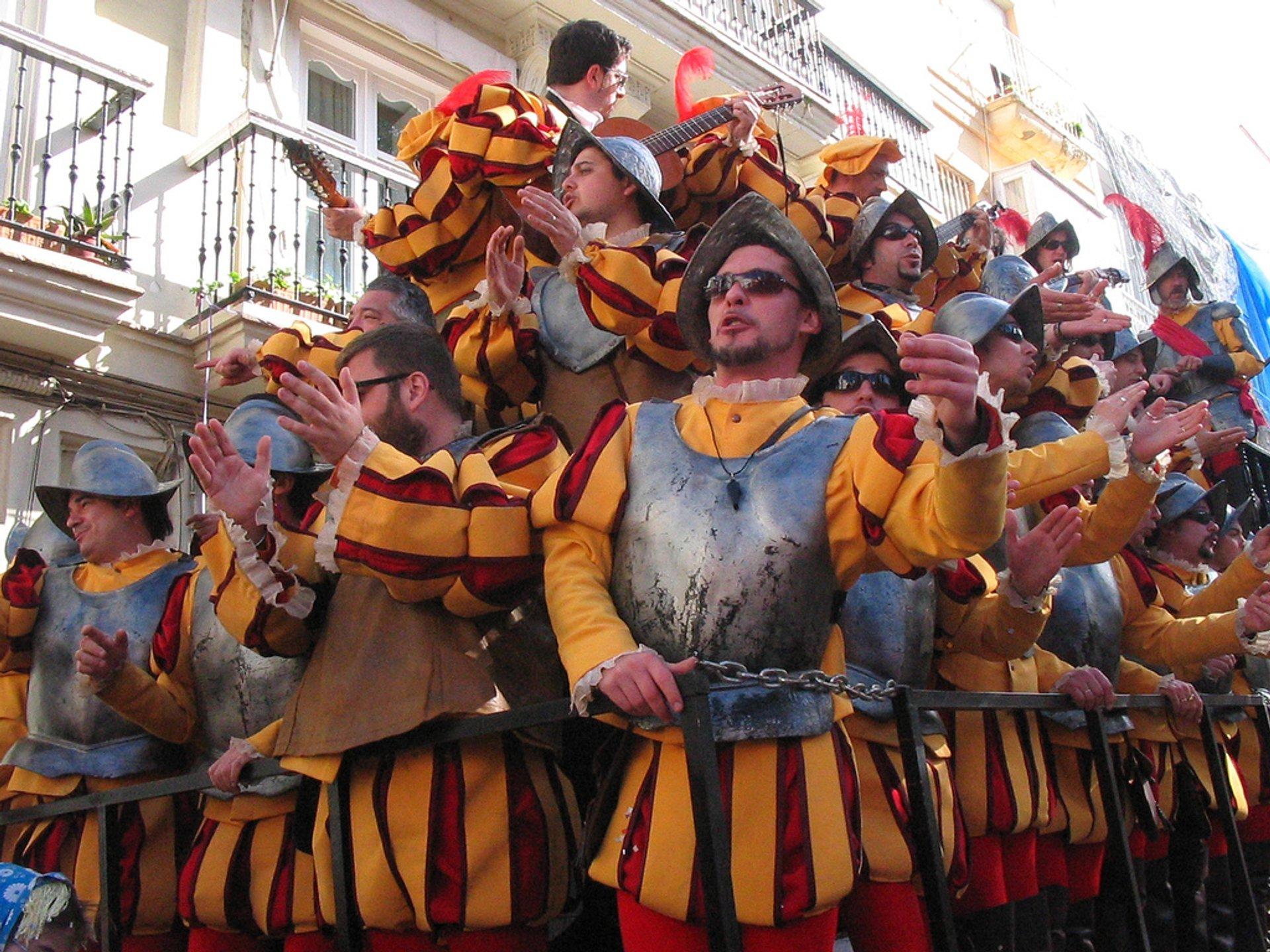 Best time for Cádiz Carnival in Spain 2019