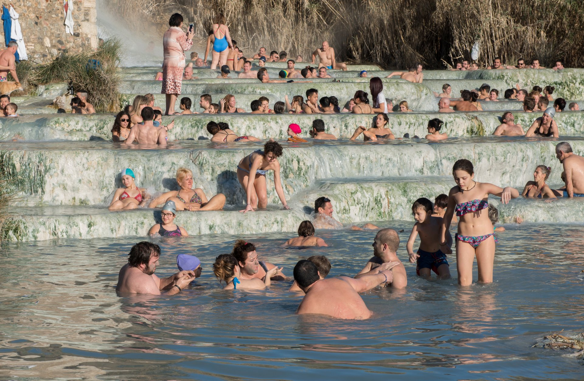 Best time for Terme di Saturnia in Italy 2019