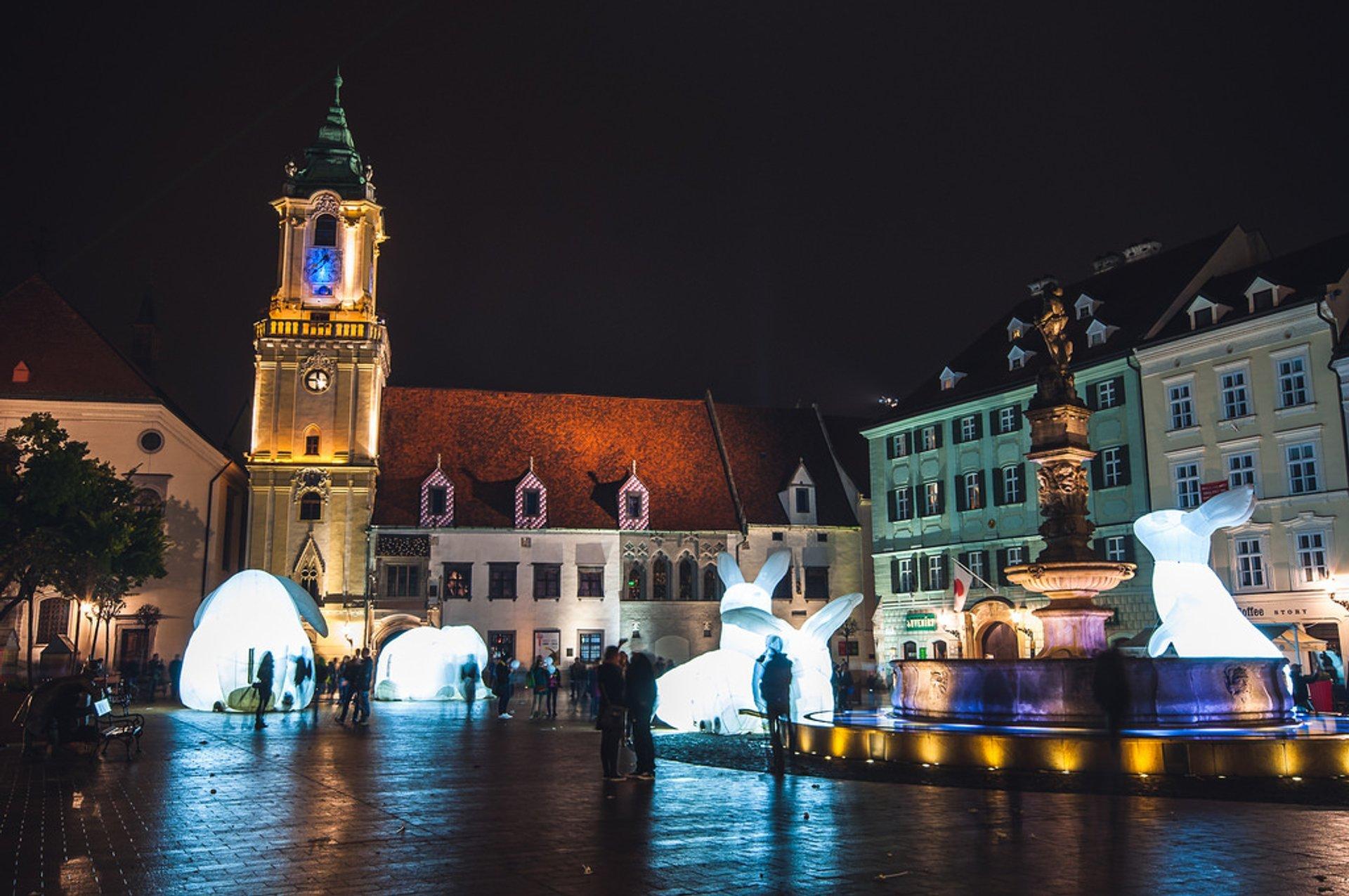 White Night Festival (Biela Noc) in Slovakia 2019 - Best Time