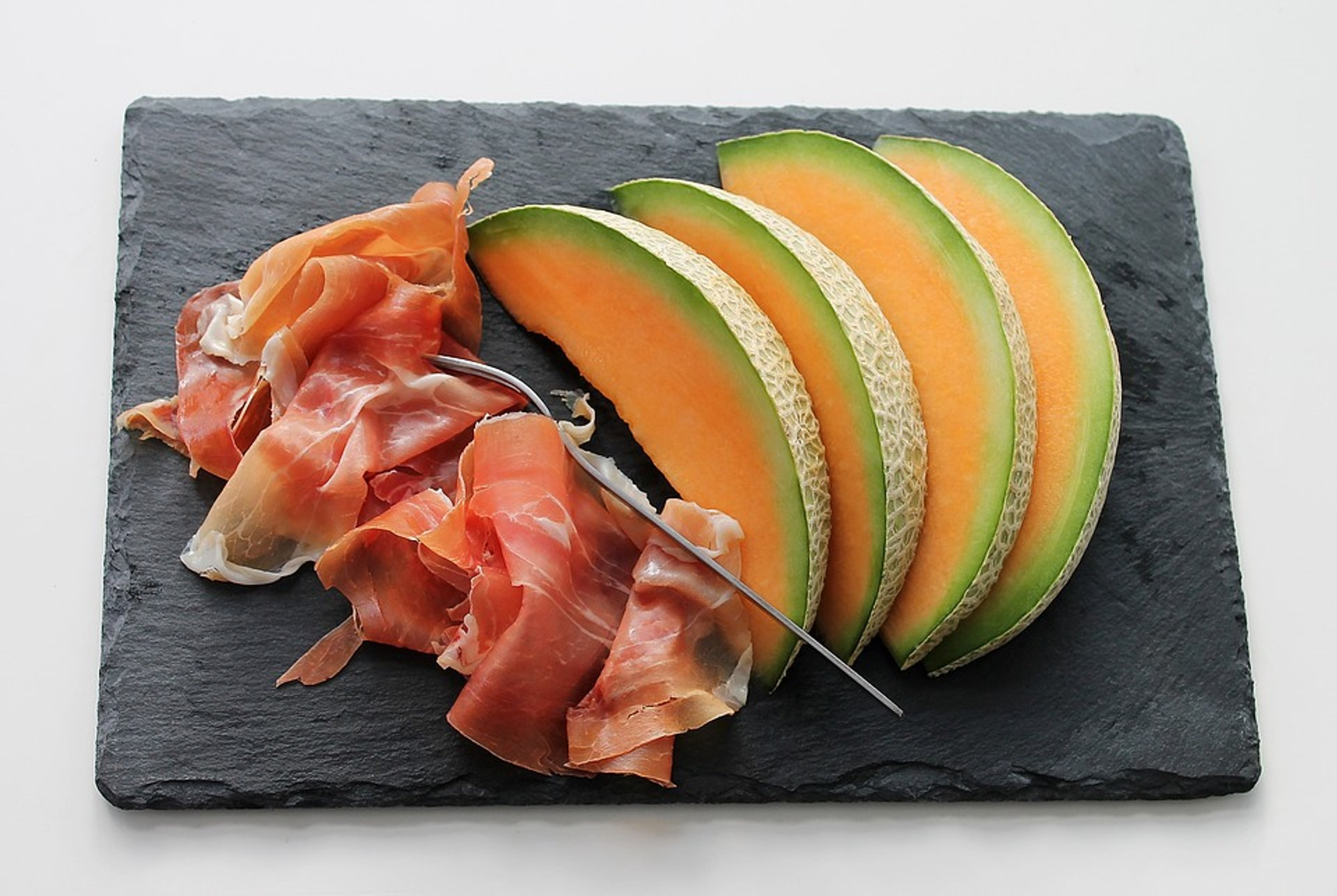 Spanish Ham (Jamón) with Melon in Spain 2020 - Best Time