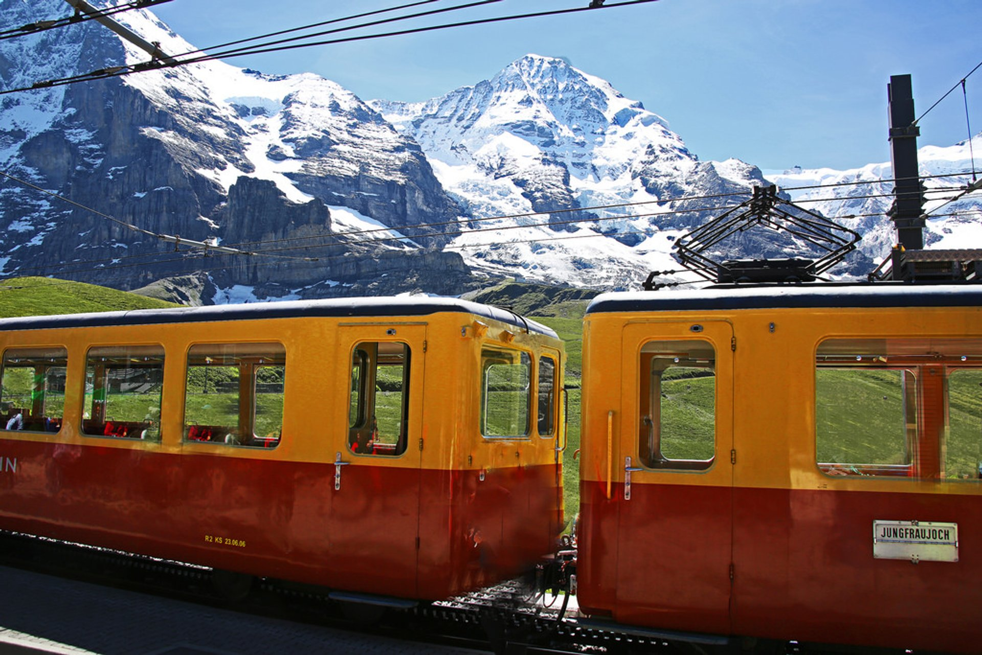 Jungfraujoch Railway 2020