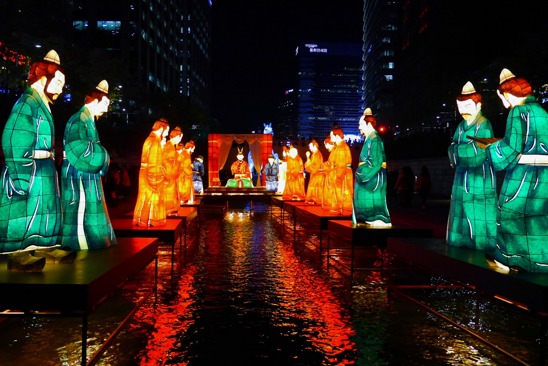 Best time for Seoul Lantern Festival in Seoul 2020