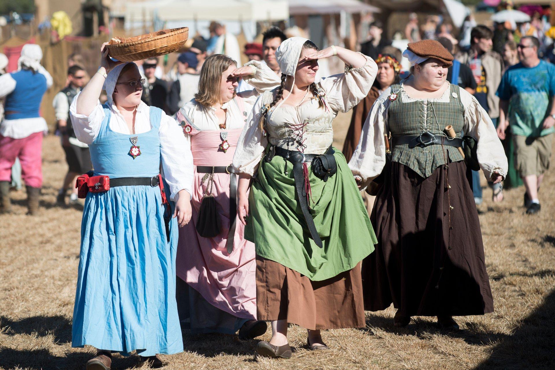 Best time for Shrewsbury Renaissance Faire in Oregon 2020
