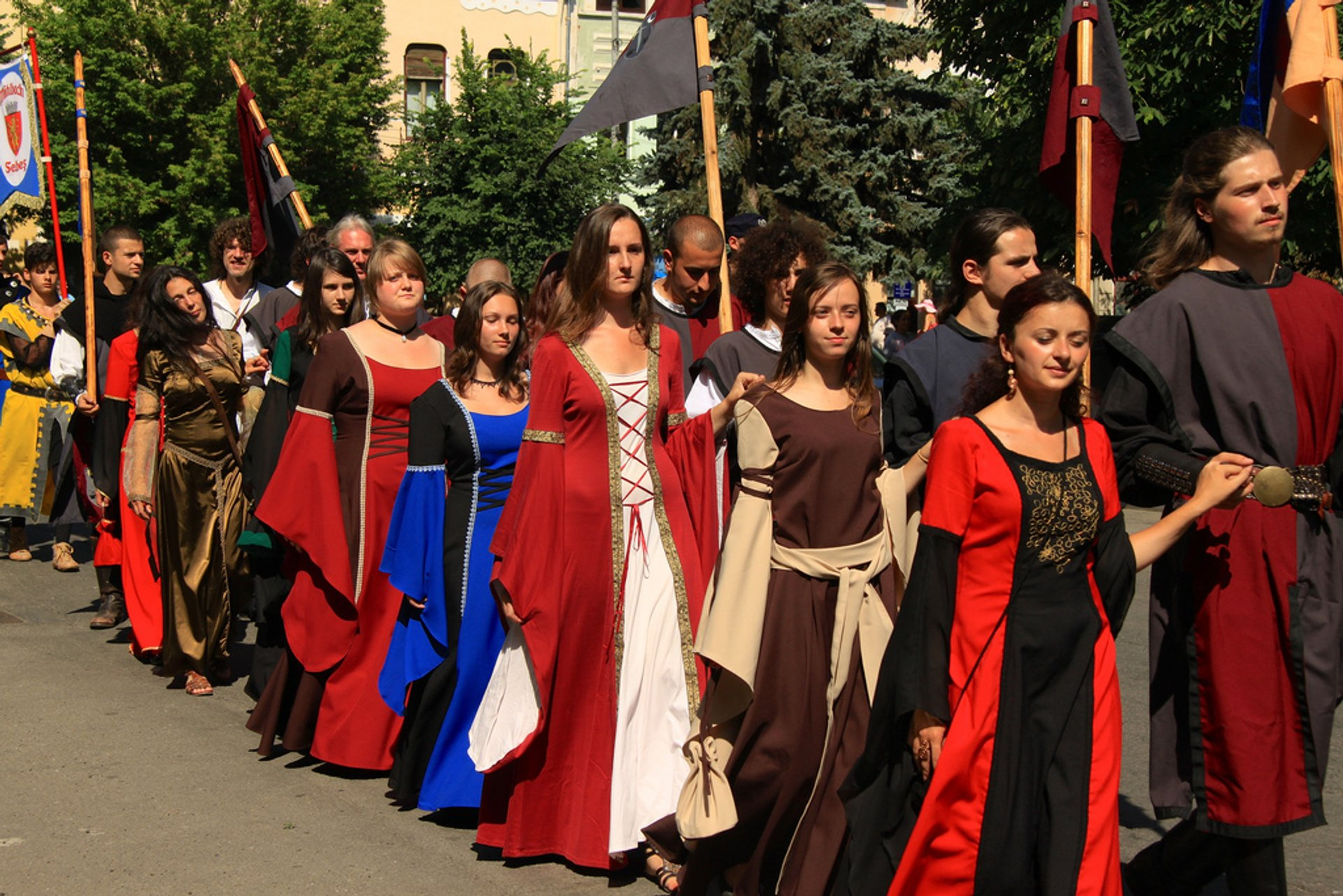 Best time for Medieval Festivals in Romania 2020