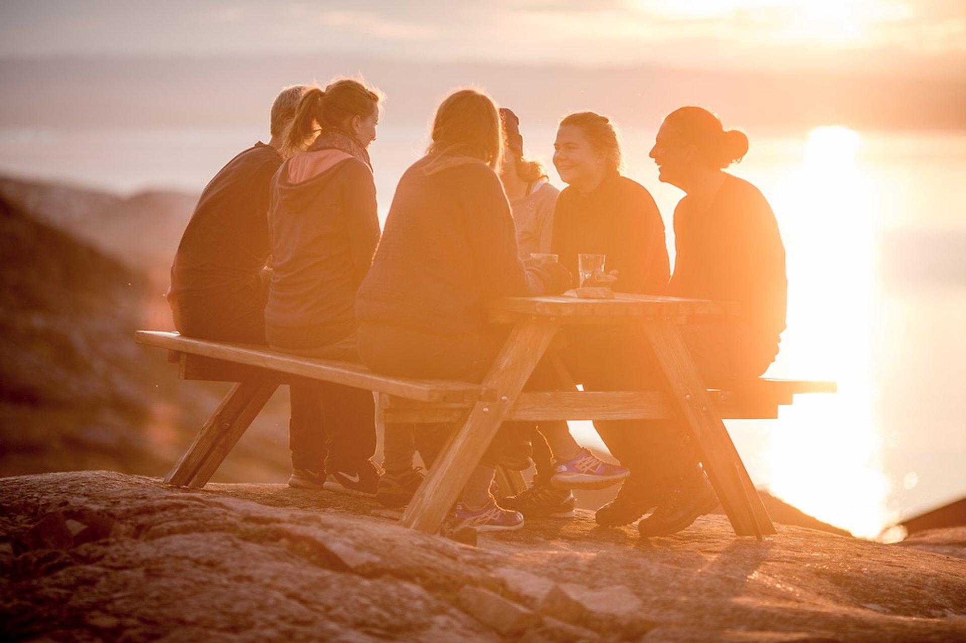 Midnight Sun in Greenland 2020 - Best Time