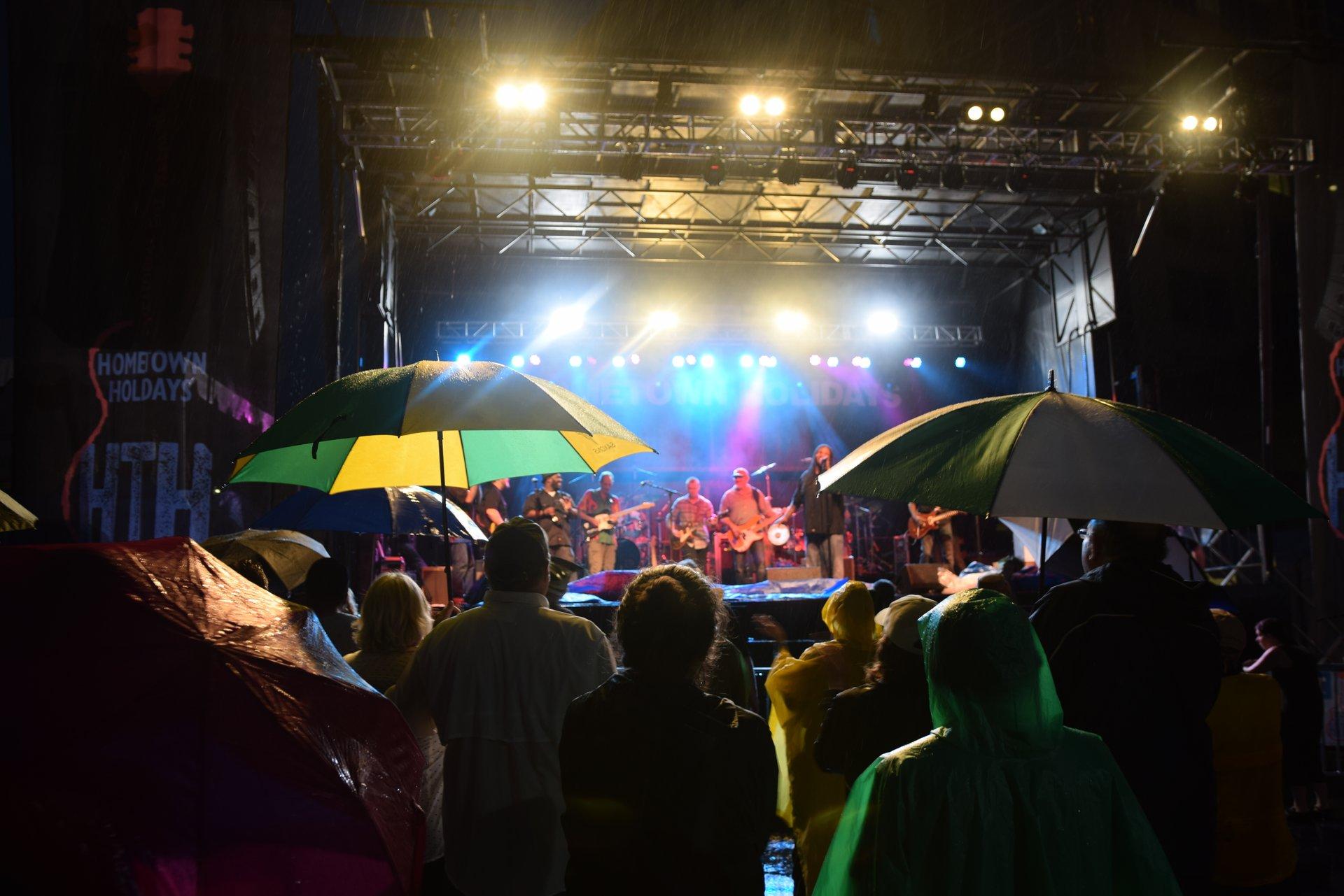Rockville Hometown Holidays Music Festival 2020